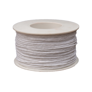 Paper Covered Wire - White (2mm x 100mm)